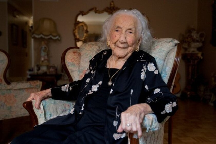 California's oldest resident, Soledad Mexia, is 110. She was born on August 13, 1899 in La Noria, Sinaloa, Mexico. She became a U.S. citizen at 100.