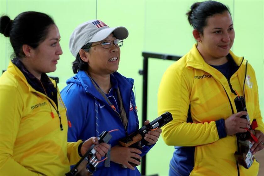 Durango y Pérez, amigas que llevan a Ecuador a lo más alto a punta de tiros