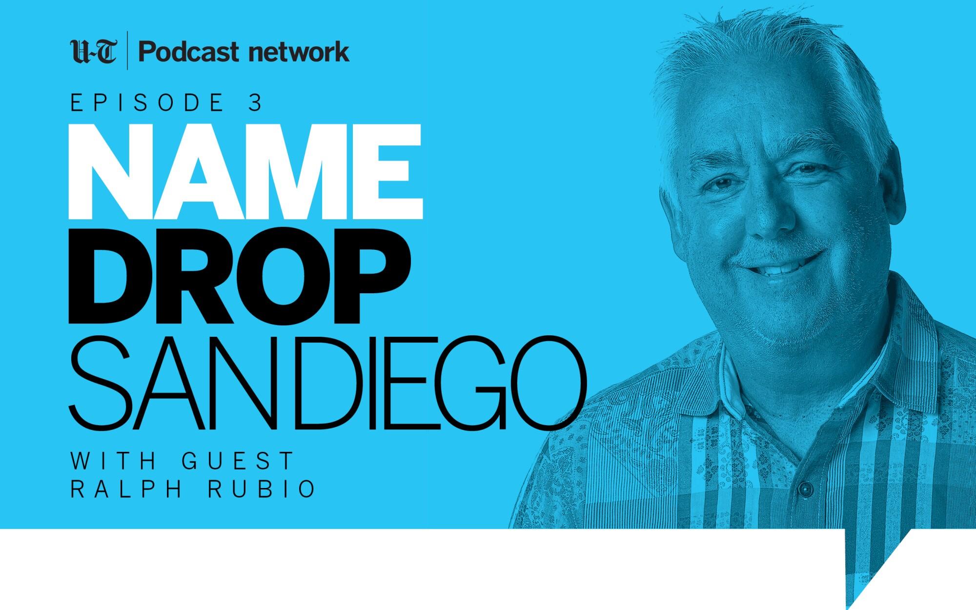 Ralph Rubio on Name Drop San Diego.
