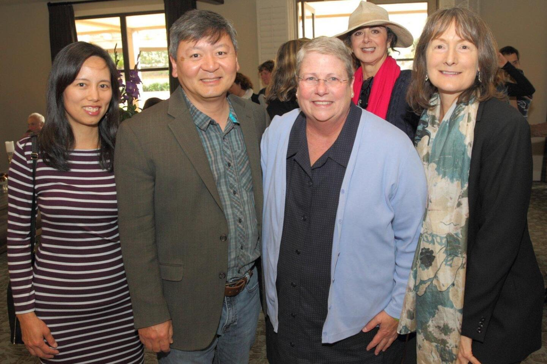 Carrie Shen, Richard Shen, Lindy Delaney, Pamela Meistrell