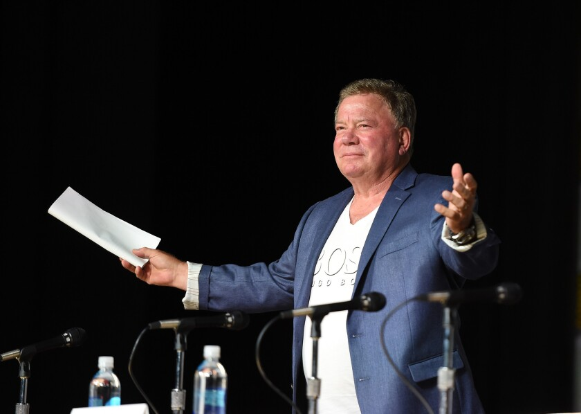 "Comic-Con International 2015 - ""The Autobiography Of James T. Kirk"" As Read By James T. Kirk Himself"