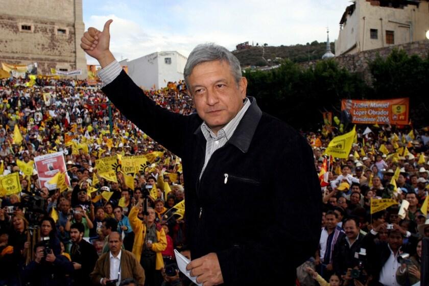 A dos semanas de las elecciones, todas las encuestas muestran una amplia ventaja de Andrés Manuel López Obrador.