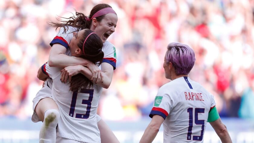 FIFA Women's World Cup 2019, Lyon, France - 07 Jul 2019