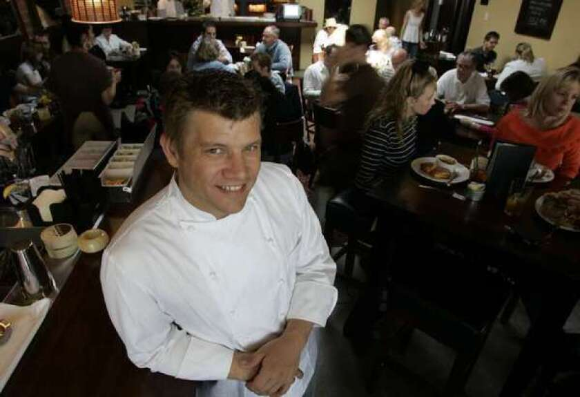 Ben Ford of Ford's Filling Station will guest-chef at the Strand House in Manhattan Beach next month.