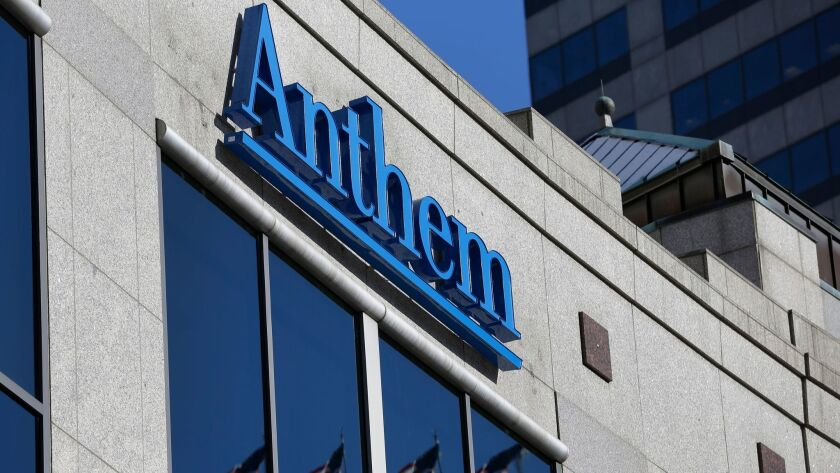 California fines Anthem $5 million for failing to address