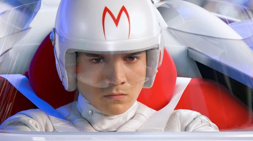 "Emile Hirsch drives a Mach 5 in the CGI movie version of ""Speed Racer'"