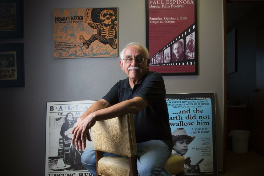 Local film maker Paul Espinosa has produce several documentary films.  To name a few, The Lemon Grove Incident, TheHunt for Pancho Villa and the earth did not swallow him.