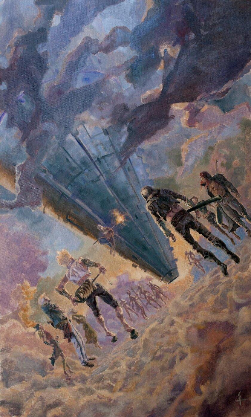 Art from a Curseborn Saga novella