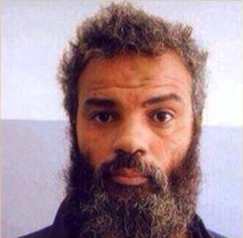 Ahmed Abu Khatallah is accused of being a key player in the deadly 2012 attacks on a U.S. diplomatic outpost in Benghazi, Libya. He pleaded not guilty to a single charge in federal court in Washington on Saturday.