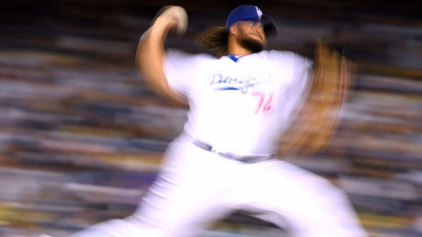 The Dodgers bullpen has been a blur of activity all season.