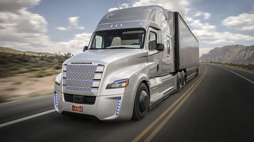 Self-driving big-rig technology moving quickly down the on-ramp