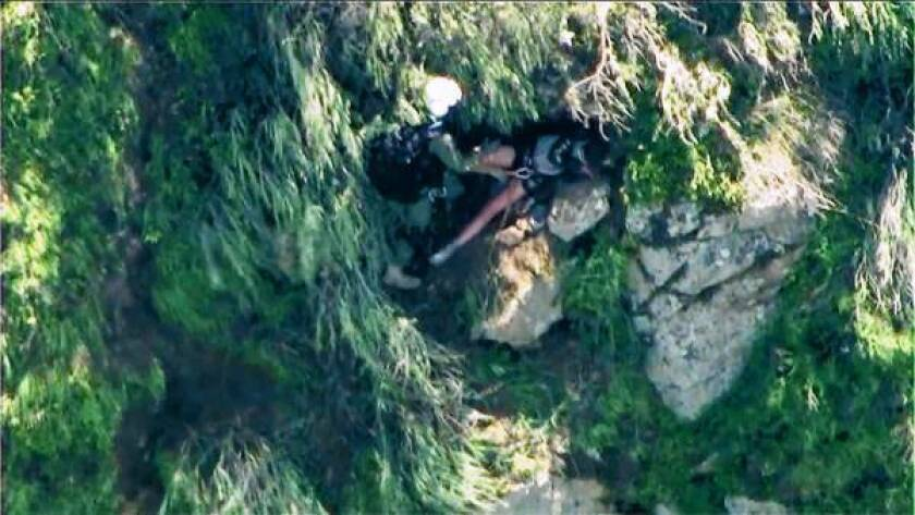 Second missing hiker is rescued in Orange County
