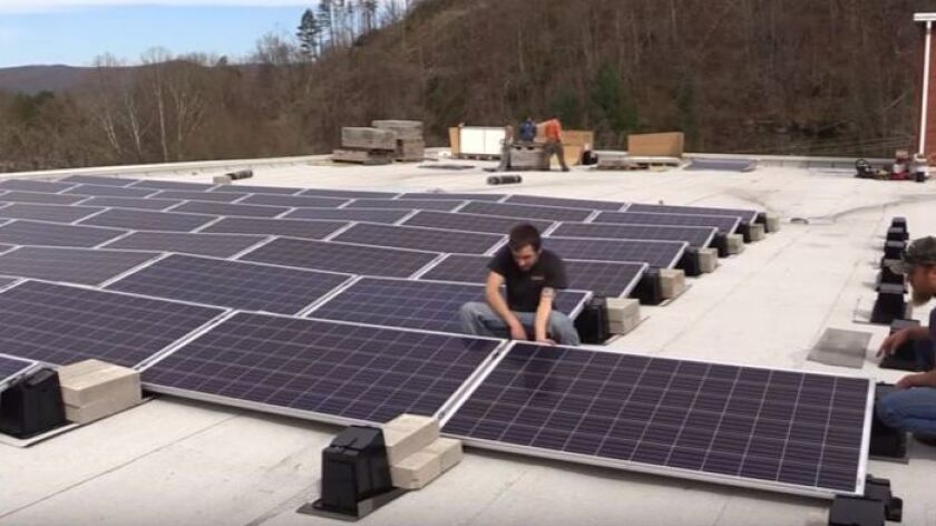 Irony alert: Kentucky's coal museum installs solar panels - The San