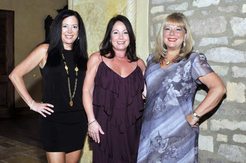 Christina Capozzi, event Chair Maria Parnell, Denise Capozzi