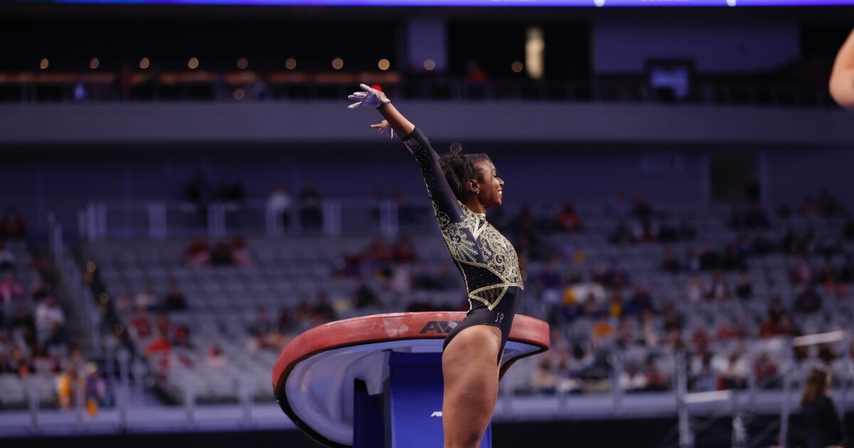 Nia Dennis, UCLA gymnastics bring #BlackExcellence to NCAA championships
