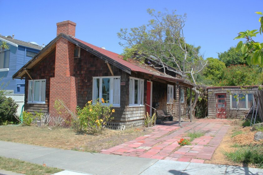 The owner of this vernacular cottage at 7569 Herschel Ave. (behind Harry's Coffee Shop) wishes to demolish the structure and build a three-unit rental property. Although the DPR voted to approve the project, member Angeles Liera lamented that the city does not recognize the value of vernacular arch