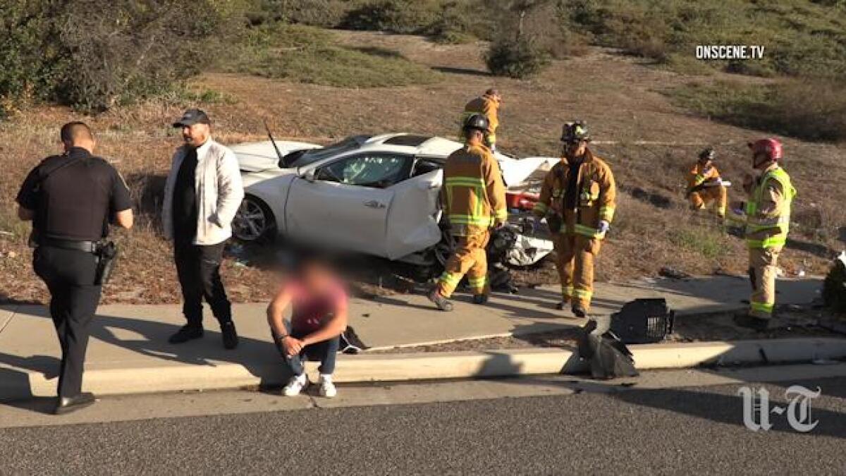 Illegal U-turn causes 3-car crash in Chula Vista that sends