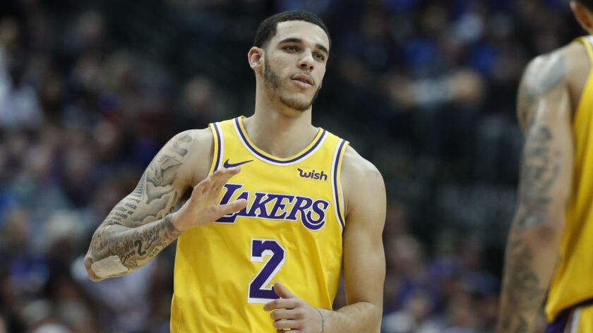 Lakers guard Lonzo Ball is suing Big Baller Brand co-founder Alan Foster.