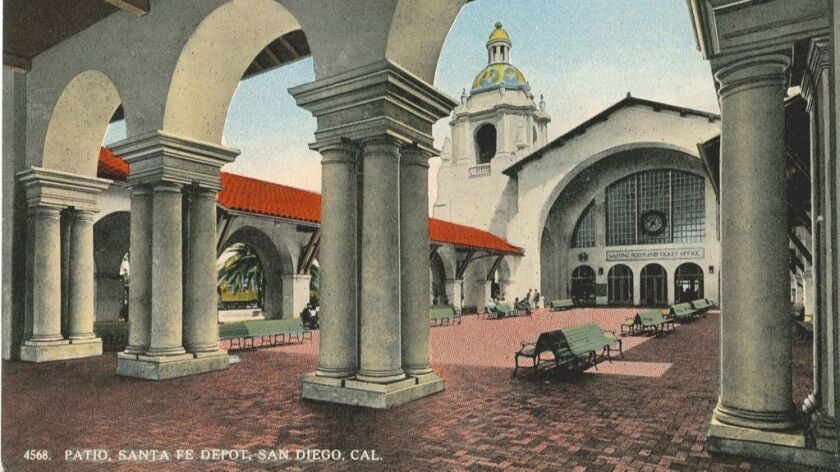 San Diego S Historic Santa Fe Depot Is About To Be Sold The San Diego Union Tribune