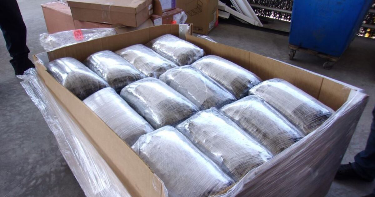 CBP discovers $5.5 million of meth in Otay Mesa medical supply shipment