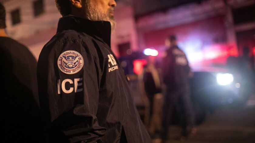 The Trump administration may steer federal policing grant funds away from cities such as Los Angeles that refuse to help federal immigration officers catch people who are in the country without legal permission, an appeals court ruled.