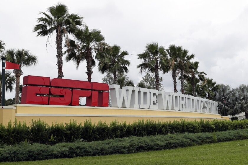 A view of ESPN's Wide World of Sports at Walt Disney World.