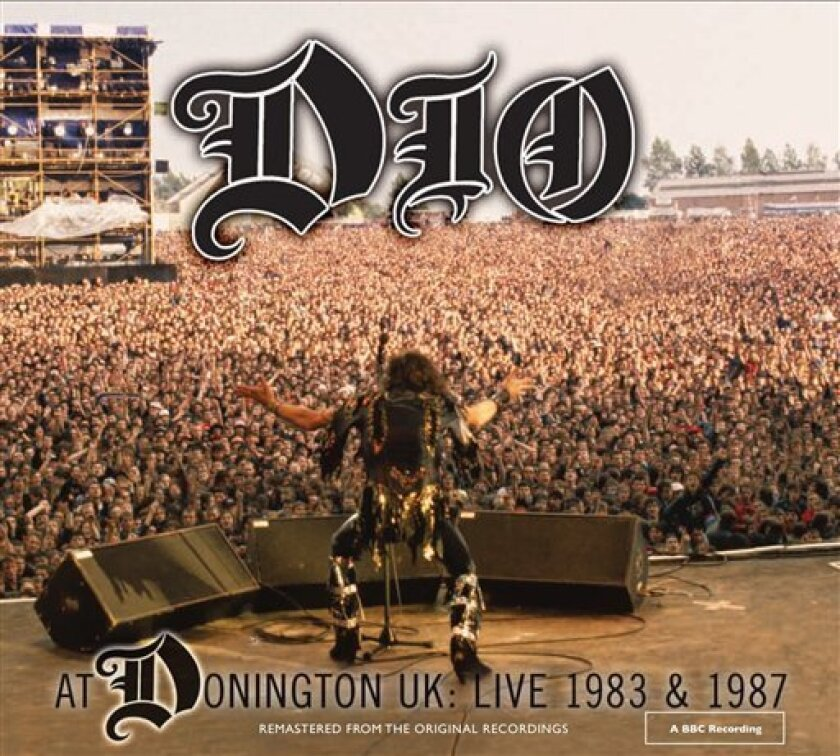 """In this CD cover image released by Niji Entertainment, Dio's """"Live At Donington 1983 & 1987"""" is shown. (AP Photo/Niji Entertainment)"""