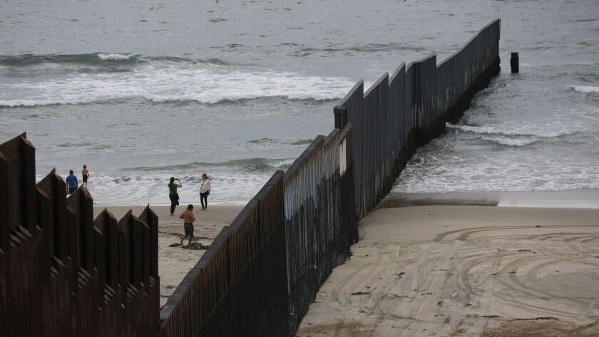 Miguel Fernandez tried anew to cross the border, attempting to swim via the Pacific, where the fence