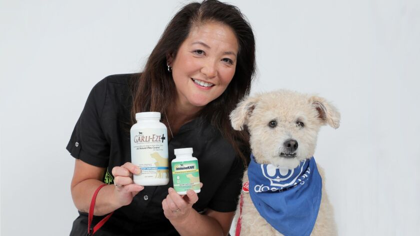 Rhondi Shigemura-Webster is a food scientist and animal lover who lives in Encinitas.