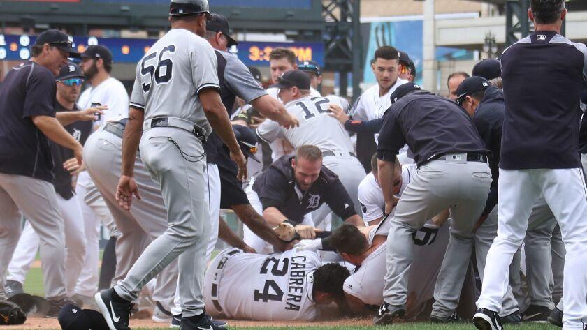 BESTPIX - New York Yankees v Detroit Tigers