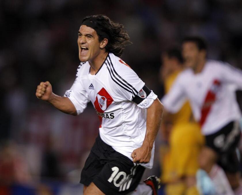 Ariel Ortega, ex jugador del River Plate de Argentina. EFE/Archivo