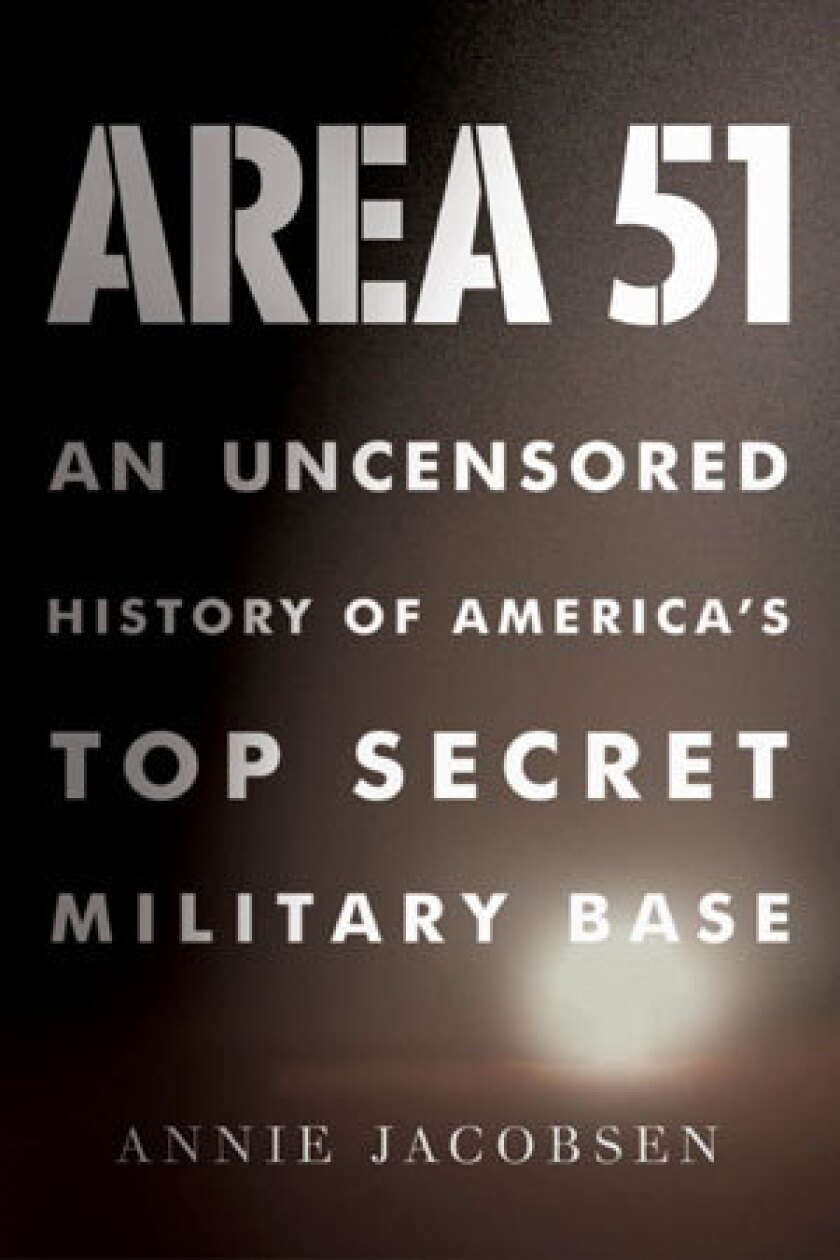 Area 51': Book review - Los Angeles Times