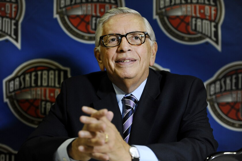 NBA Stern Tribute Basketball