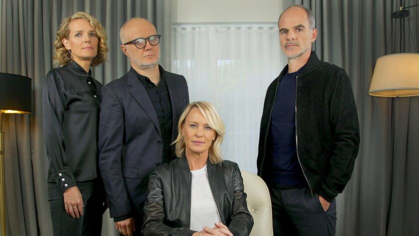 """BEVERLY HILLS, CA., OCTOBER 22, 2018 ---The final season of """"The House of Cards"""" bows on Nov. 2, the"""