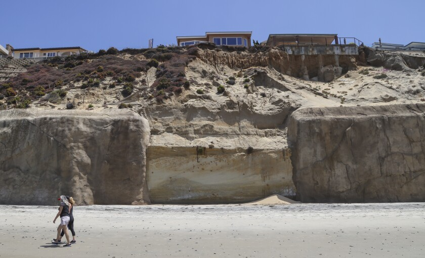 La Comisión Costera de California aprobó el jueves un muro de contención para llenar este vacío