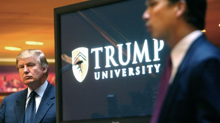 Trump University launch