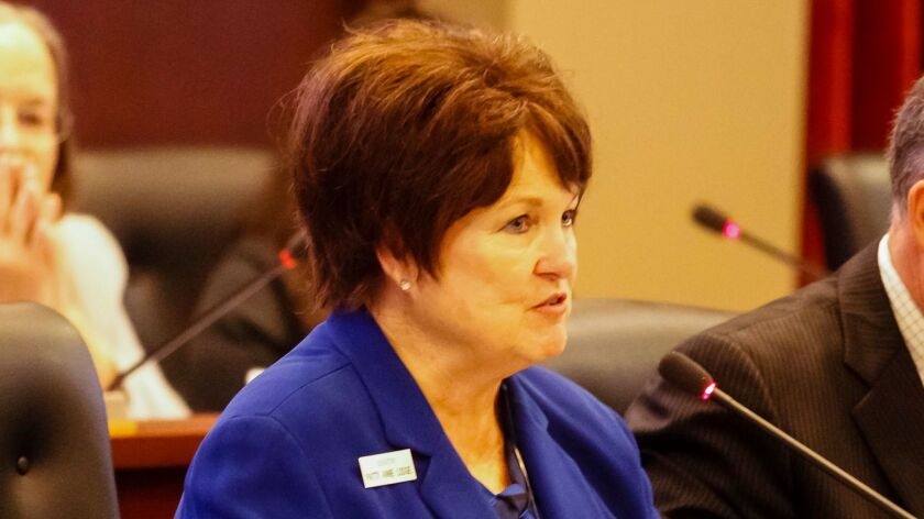 Idaho state Sen. Patti Anne Lodge has been a strong opponent to changes to the faith-healing law.