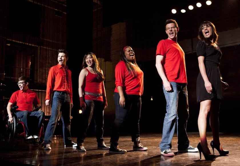 'Glee' scene