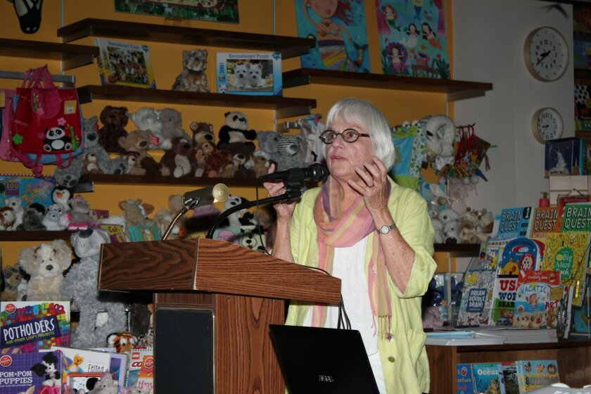 Mary Beebe, director of Stuart Collection at UCSD