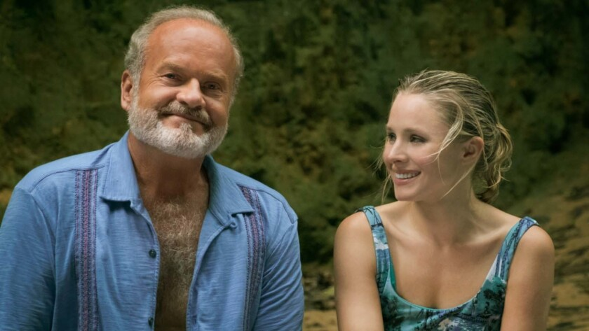 """(L-R) - Kelsey Grammer and Kristen Bell in a scene from the movie """"Like Father."""" Credit: Emily Arago"""