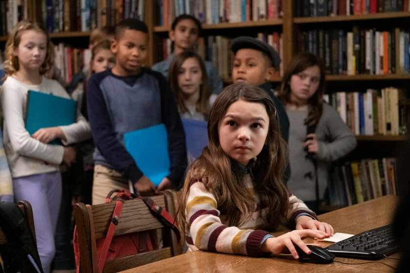 """""""The Florida Project"""" breakout Brooklynn Prince plays tenacious young journalist Hilde Lisko in """"Home Before Dark."""""""