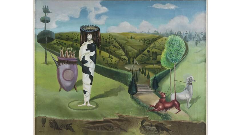 Leonora Carrington 'Green Tea' ('La dam ovale'), 1942.