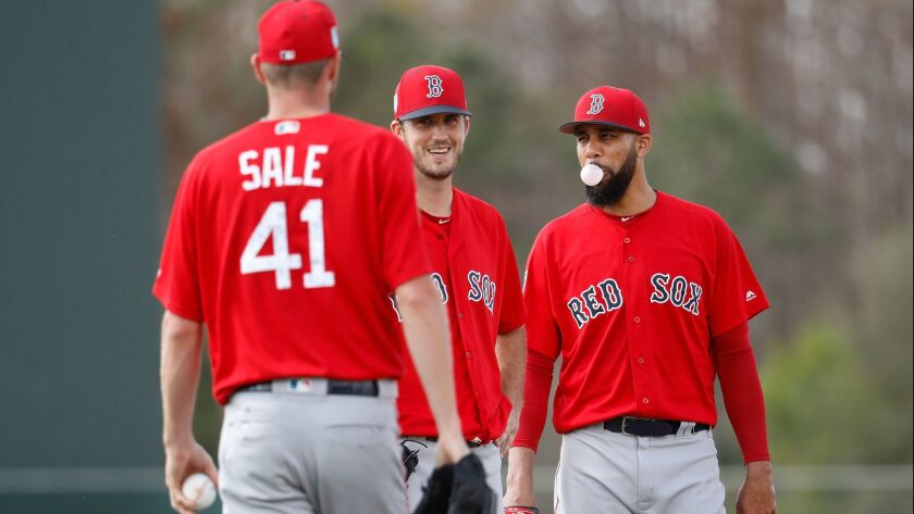 Chris Sale, Drew Pomeranz, David Price