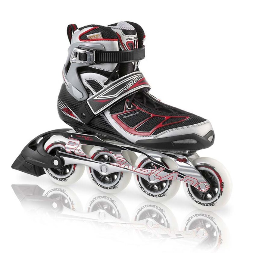 A Rollerblade® Tempest Inline Skate is seen in an undated photo provided by the Consumer Product Safety Commission. On Feb. 25, 2014 Rollerblade announced a recall of Rollerblade® Tempest Inline Skates due to a fall hazard. The company says The mounting holes in the boot and frame can be misaligned