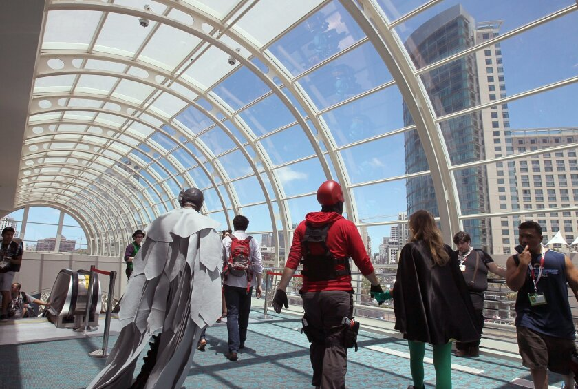 Year in and year out, Comic-Con is the single biggest event held at the San Diego Convention Center, which last year drew more than 800,000 attendees from dozens of conventions.
