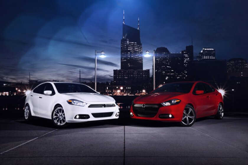 Though American-built, the Dart shares architecture with its Italian Alfa Romeo Giulietta corporate cousin.