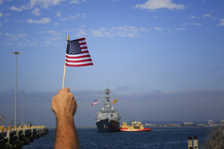 USS Dewey returns home to San Diego