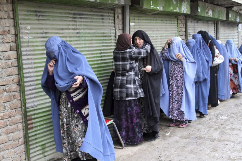 Afghan election concludes: Little violence, lots of votes to count