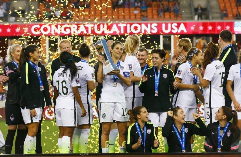 Es la cuarta vez al hilo que EE.UU. conquista el torneo.