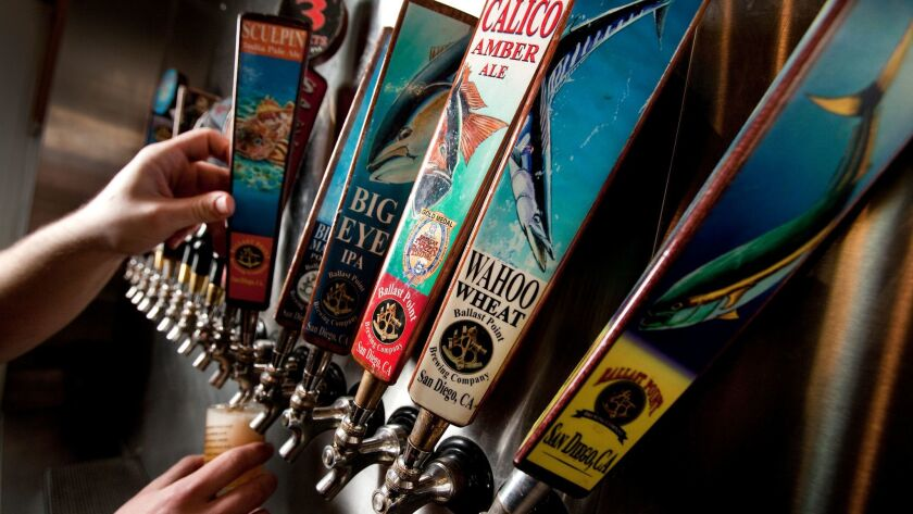 January 29, 2012-SAN DIEGO, CA| Andrew Buck, home brew consultant at Ballast Point Brewing Company,